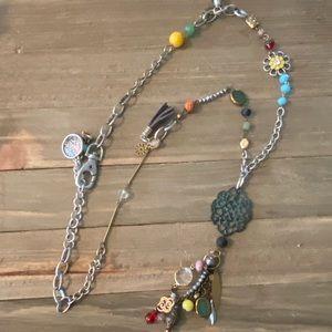 Plunder Felice Retired HTF Charm Detail Necklace